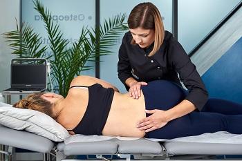 osteopatia kobiet w ciąży Fizjo Clinica